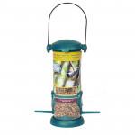 BIRD FOOD GEVULDE FEEDER MET STROOIVOER 140G (10)