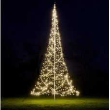 FAIRYBELL VLAGGENMAST KERSTBOOM 600CM - 600LED WARM WHITE